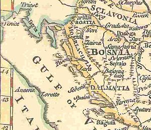 Vlachs in the history of Croatia - Morlach region in the 17th century.