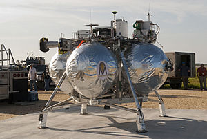 Project Morpheus - Morpheus Lander in launch position