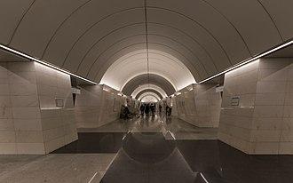Petrovsko-Razumovskaya - Image: Mos Metro P Razumovskaya new hall 01 2017