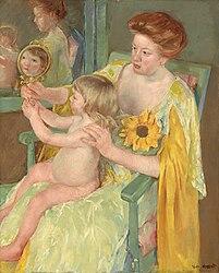 Mary Cassatt: Mère et enfant