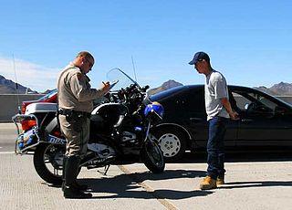 Traffic ticket punishment