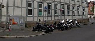 Motorradparkplatz Turmstraße