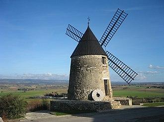 Castelnaudary - Image: Moulinde Cugarel