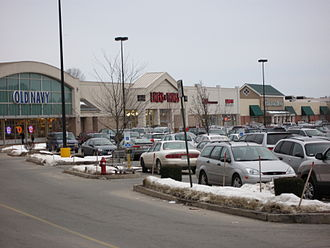 Mountain Farms Mall - View of the other end of the mall