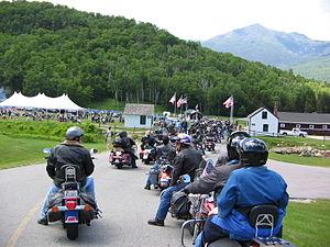 Mount Washington Auto Road - Entrance to the Mount Washington Auto road