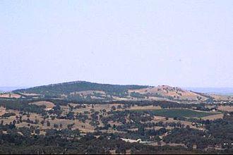 Mount Barker (South Australia) - Mount Barker, as seen from Mount Lofty