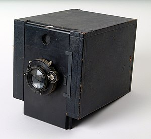 Mug shot - Camera used for taking mug shots at Alcatraz Federal Penitentiary, California, US