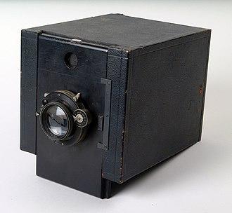 Mug shot - Camera used for taking mug shots at Alcatraz Federal Penitentiary, California, US