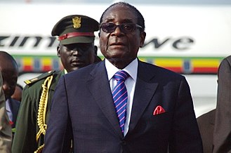 Zimbabwe - Zimbabwean President Robert Mugabe attended the Independence Day celebrations in South Sudan in July 2011