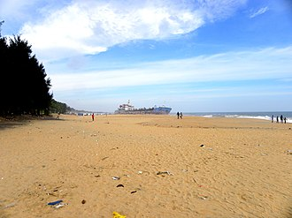 Mundakkal Beach - Image: Mundakkal Coast, Oct 2016