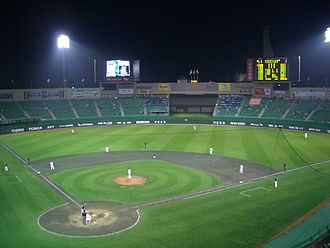 SK Wyverns - Munhak Baseball Stadium, home field of the SK Wyverns