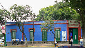 English: Museo Frida Kahlo in the Casa Azul