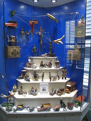 İstanbul Toy Museum - Image: Muzeumhracek Istanbul Lehman Toy Factory