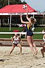NCAA beach volleyball match at Stanford in 2017 (33431720395).jpg