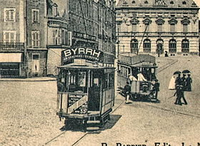 Image illustrative de l'article Ancien tramway du Mans