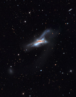 NGC 520 - Image: NGC520 Galaxy from the Mount Lemmon Sky Center Schulman Telescope courtesy Adam Block