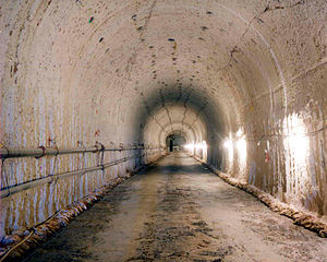 Area 25 (Nevada National Security Site) - X-Tunnel in Area 25.