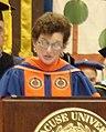 Nancy Cantor at Syracuse University Graduation Ceremony in 2006.jpg