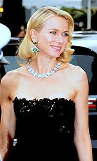 Naomi Watts British actress and film producer