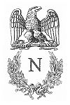 The crest of Napoleon I.