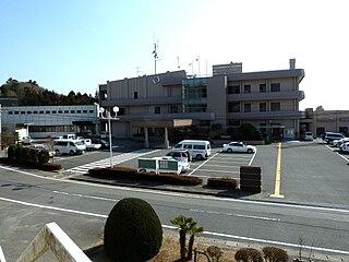 Naraha, Fukushima Town in Tōhoku, Japan