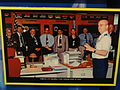 National Security Operations Center photograph, 2001, with Gen. Michael Hayden - National Cryptologic Museum - DSC07662.JPG