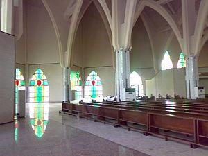 National Church of Nigeria - Interior of the church