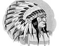 Native American as logo art detail, from- RCA Indian Head test pattern (cropped).JPG