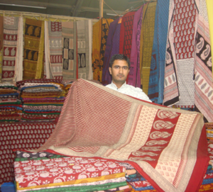 Bagh, Dhar - A traditional Bagh Print craftsman from Bagh, Madhya Pradesh