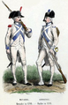 Navarre Grenadier and Armagnac Fusilier in 1789.png