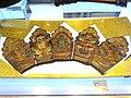 Naxi five-Buddha hat - Yunnan Provincial Museum- DSC02116.JPG