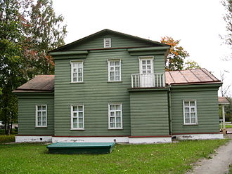 Chudovsky District - The Nekrasov Museum in Chudovo