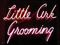 Neon sign - Little Ark Grooming.jpg