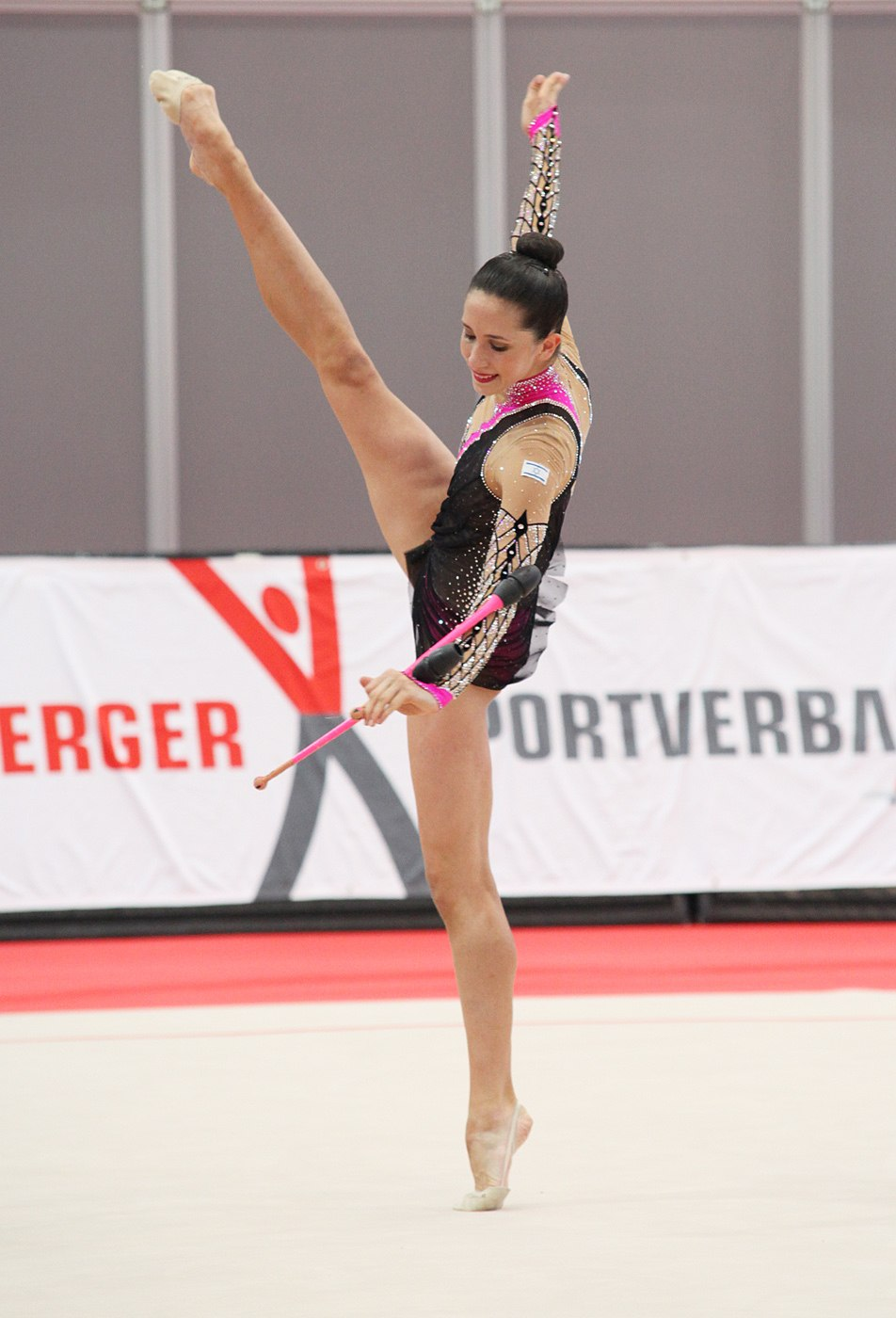 Neta Rivkin ISR Rhythmische Gymnastin