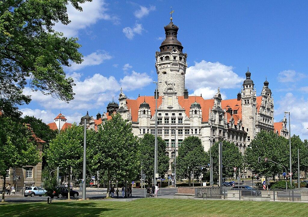 Neues Rathaus (Nouvelle Mairie) à Leipzig - Photo de Appaloosa.