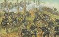 Neumann, Fritz - Das preuss. Kgl. Grenadier-Regiment Nr. 74 erstürmt die Spichererhöhen am 6. August 1870, dabei Tod des Generals von Francois.png