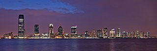 New Jersey Skyline from Battery Park NY - cropped