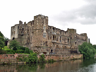 Newark Castle, Nottinghamshire - Newark Castle in 2008