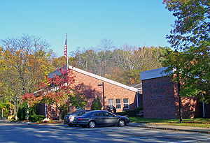 J. Malone Bannan Center, the town hall, named for a former (1967-1978) town supervisor
