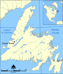 Lewis Hills is located in Newfoundland