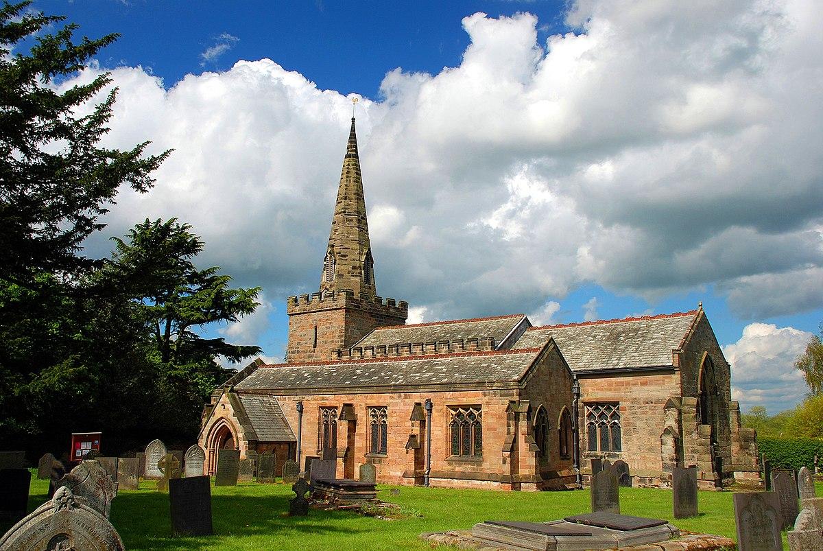 St Mary The Virgin S Church Newton Solney Wikipedia