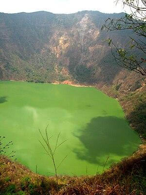 Cosigüina - Volcan Cosigüina crater lake, 2009