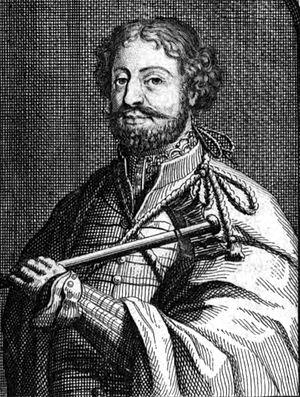Heraclius I of Kakheti - King Heraclius I by Nicolaes Witsen, late 17th century.