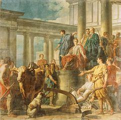 Caius Furius Cressinus accusé de sortilège