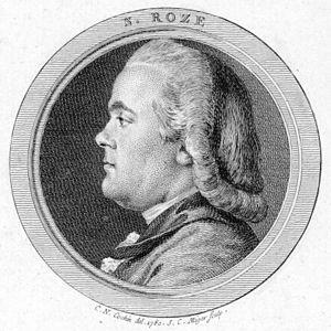Nicolas Roze - A 1780 portrait of Nicolas Roze by Simon Charles Miger.