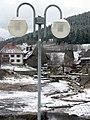 Niedrigwasser in Schluchsee, Zufluss Fischbach.jpg