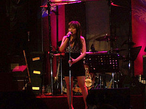 "Heaven (Nina Girado album) - Nina performing ""Jealous"" at Hard Rock Cafe on March 12, 2011."