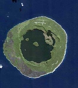 Satellitenaufnahme von Niuafoʻou