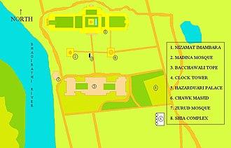 Chawk Masjid - Image: Nizamat Fort Campus