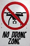 No drone sign -Glastonbury Festival site 2016 (27042313534).jpg